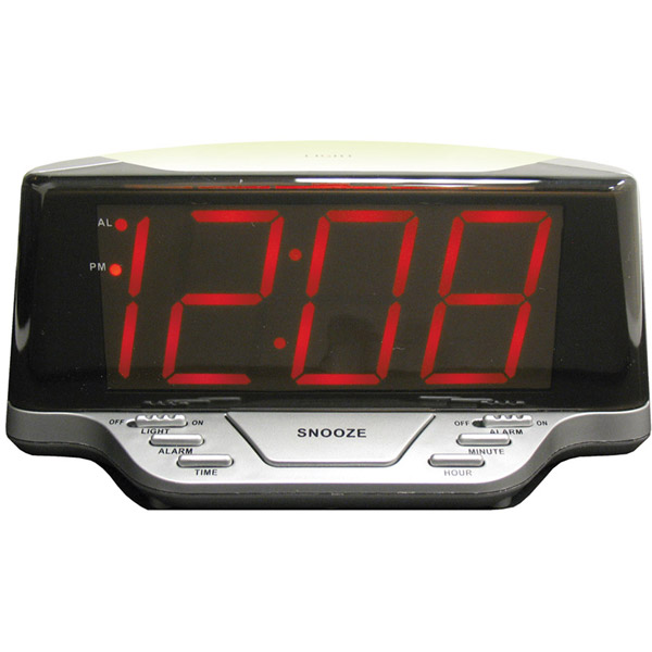 elgin electric alarm clocks digital alarm clocks www top clocks com. Black Bedroom Furniture Sets. Home Design Ideas