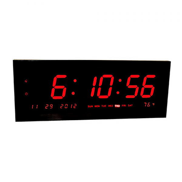 Big Time Clocks Large Calendar Multi Alarm Digital Clock