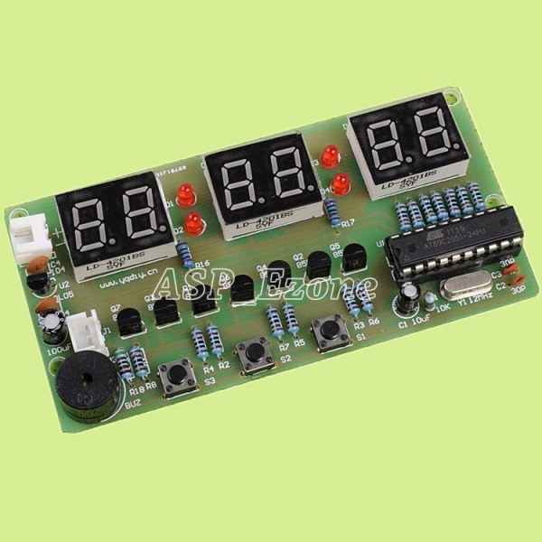 1pcs C51 Electronic Clock Bell Suite Electronic DIY Kits Alarm Count ...