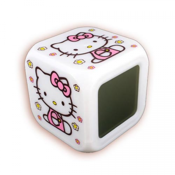 Digital Hello Kitty Digital Alarm Clock