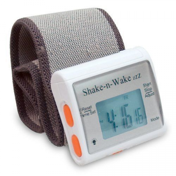 Shake n Wake ZZZ Vibrating Alarm Clock Watch by MaxiAids. $14.50. The ...