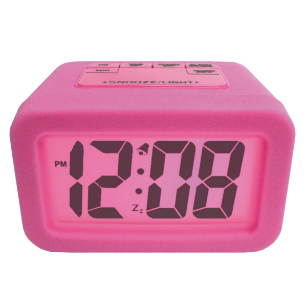 Pink Alarm Clock is from Amazon.