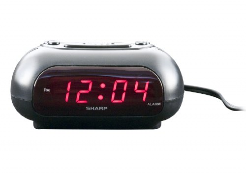 Other Watches - Sharp SPC010AK LED Alarm Clock (Black) was sold for ...