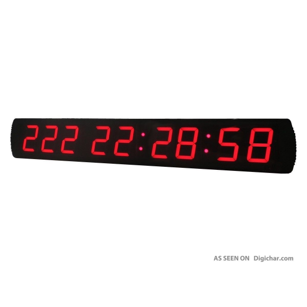 Large Digital Led Countdown Clock Countdown Days Timer For Opening ...