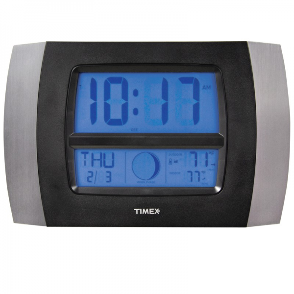 Backlit digital alarm clocks digital alarm clocks www top clocks com - Digital illuminated wall clocks ...
