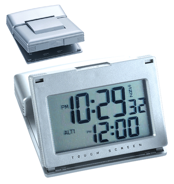 Touch Screen Alarm Clock [NAT10-166] - $20.00 : Phyllis Eig Associates ...