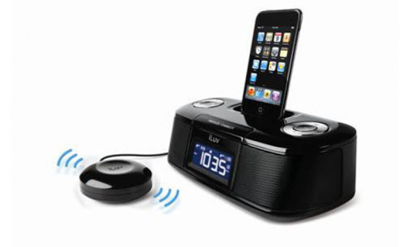 iLuv iMM153 Desktop Dual Alarm Clock for iPod