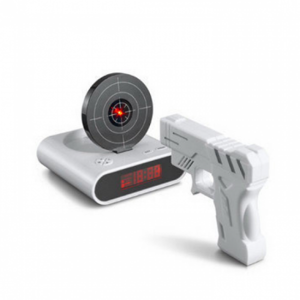 cool gun alarm clock funny Shooting | unique personalized gifs ideas ...