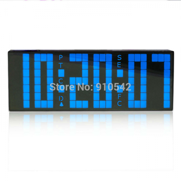 Digital Large Big Jumbo LED Alarm Clock Remote Control Countdown Timer ...