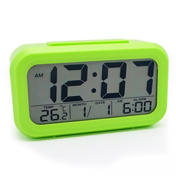 ... Alarm Clock Battery Operated With Dual Alarms...: Digital Alarm Clocks