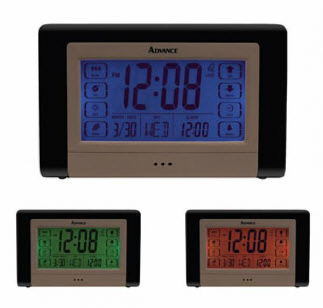 Advance Digital Alarm Clock (price is for one clock; three are shown ...