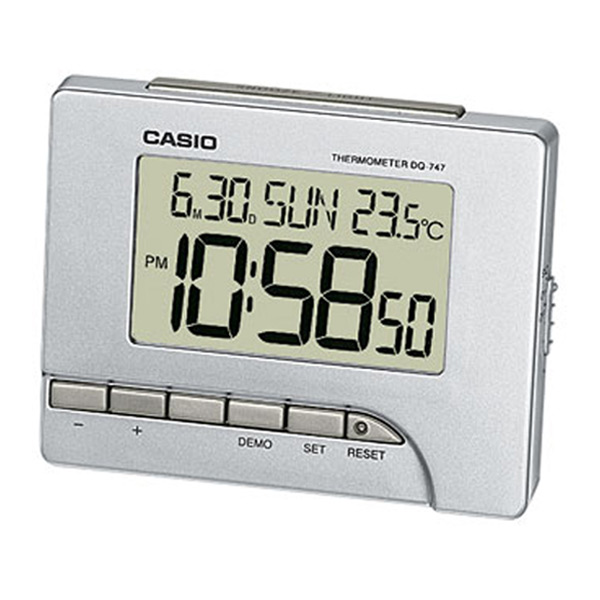 This Casio Digital Alarm Clock & Thermometer is a great feature rich ...