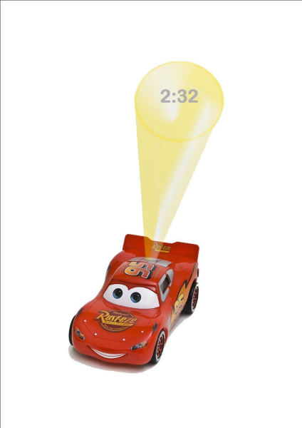 DISNEY CARS LIGHTENING MCQUEEN CHILDRENS/KIDS BOYS DIGITAL ALARM CLOCK ...