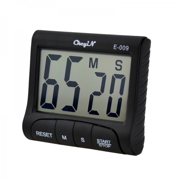 Digital Kitchen Alarm Count Clock Up Down Timer Black 0.33-in Kitchen ...