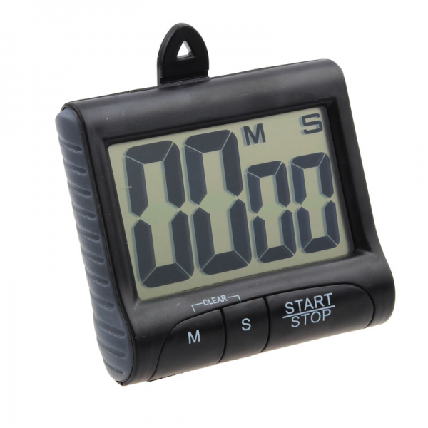 ... Digital LCD Kitchen Count Down Counter Timer Beeping Alarm Clock So