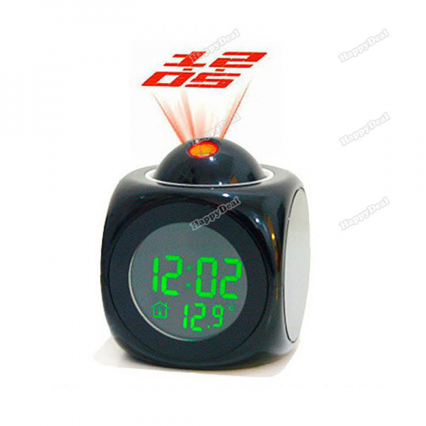-Multifunction-LCD-Digital-Talking-Voice-Projection-Alarm-Clock ...