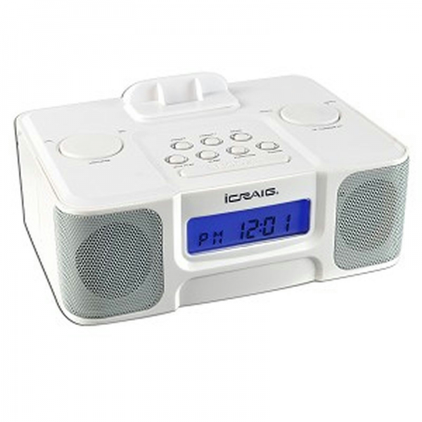 speaker system alarm clocks digital alarm clocks www top clocks com. Black Bedroom Furniture Sets. Home Design Ideas
