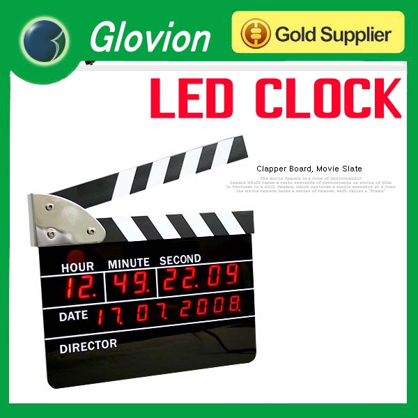 LED Digital Alarm Clock Rechargeable LED Alarm clock Directors ...