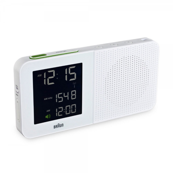 Braun Digital AM/FM Radio Alarm Clock - BNC-10 - with AC Adaptor ...