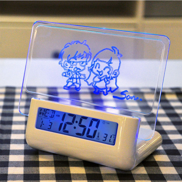 ... Alarm Clock Calendar Night Light Modem LED Alarm Backlight JL*DA1203