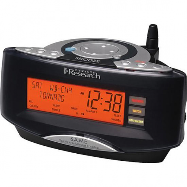 SmartSet Weather / Alarm Clock Radio - The Green Head