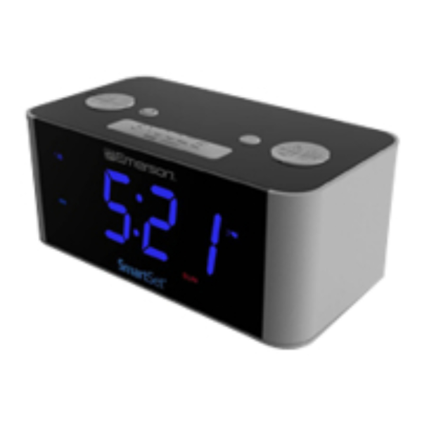 Emerson SmartSet Radio Alarm Clock LED MPN: CKS1708 - Join the ...