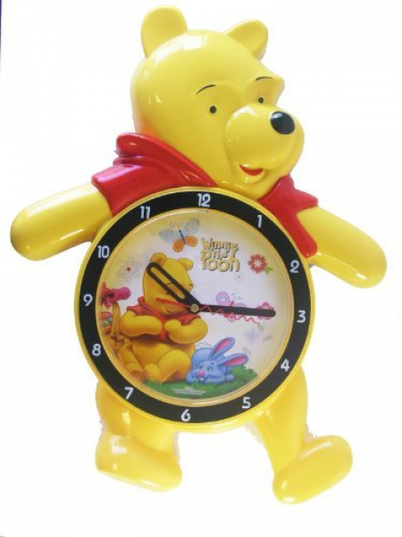 Winnie The Pooh Alarm Clock w/ Soothing Glow LED Lights And ...