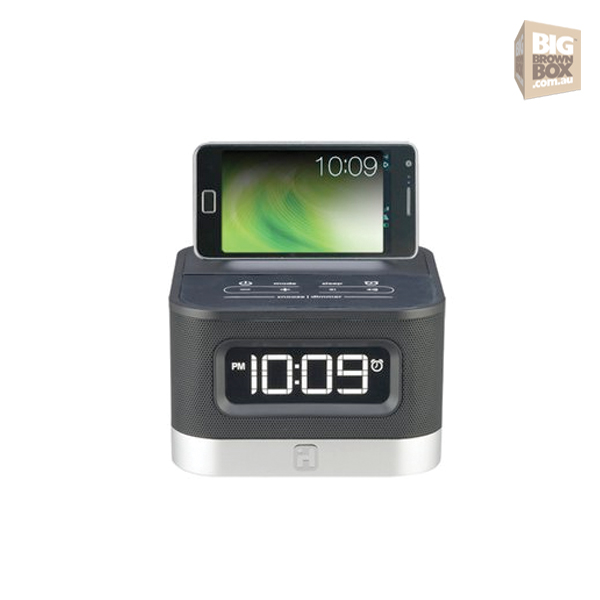 iHome iC50 FM Stereo Alarm Clock Radio for Android Smartphones IHH601 ...