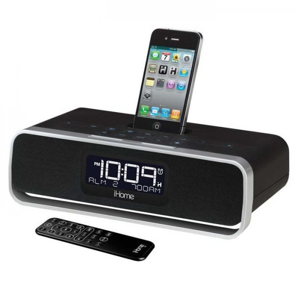 iHome Dual Alarm Stereo Clock Radios at Brookstone—Buy Now!