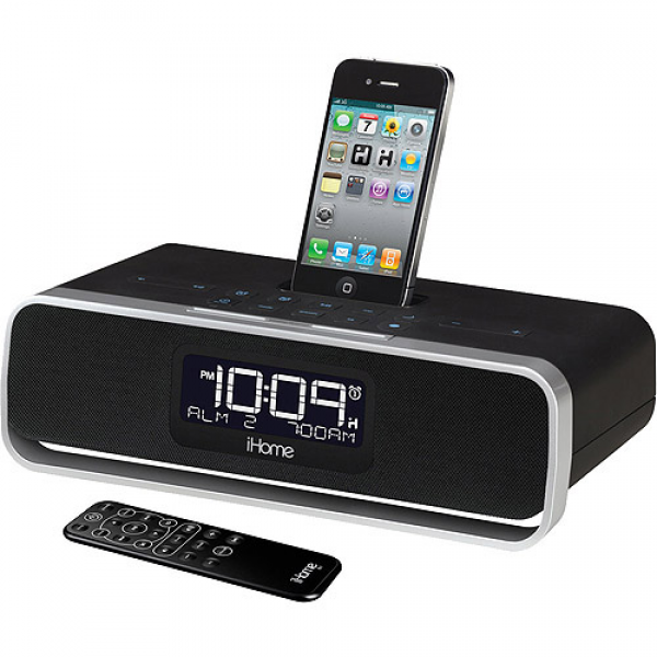 Clock Radio, iHome App Enhanced Alarm Clock Radio, USB Alarm Clock ...