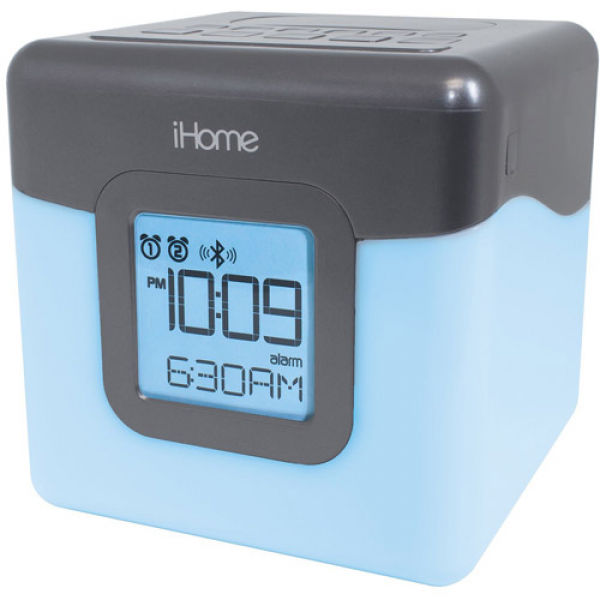 iHome iBT28 Bluetooth Color Change Clock - Walmart.com