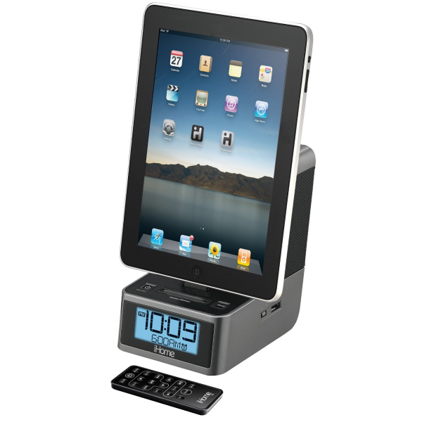 Radio Reloj iHome iD37 con Dock para iPod, iPad & iPhone - iPod - CD ...
