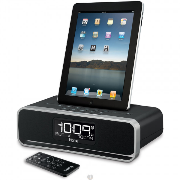 iHome ID91 Dual Alarm Stereo Clock Radio Dock For ipad Price in India ...