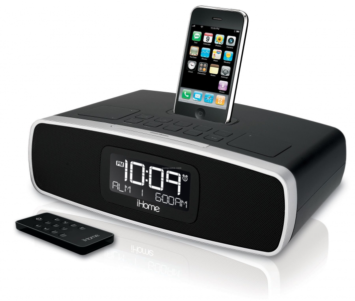 Ihome Dual Alarm Clock Radio For Iphone & Ipod - AM/FM (Black),China ...