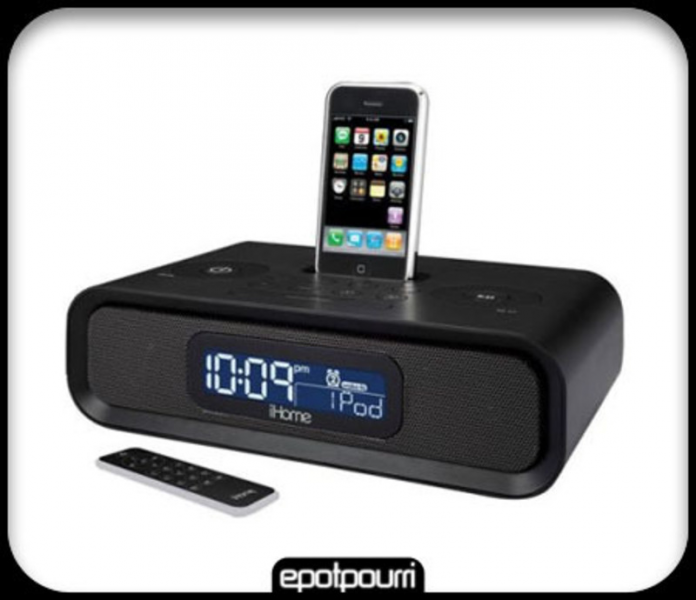 ihome docking stations alarm clocks ihome alarm clocks www top clocks com. Black Bedroom Furniture Sets. Home Design Ideas