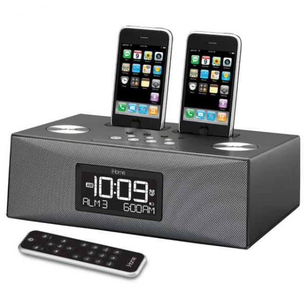 The alarm clock portion of the iP88 is what makes it stand out from ...