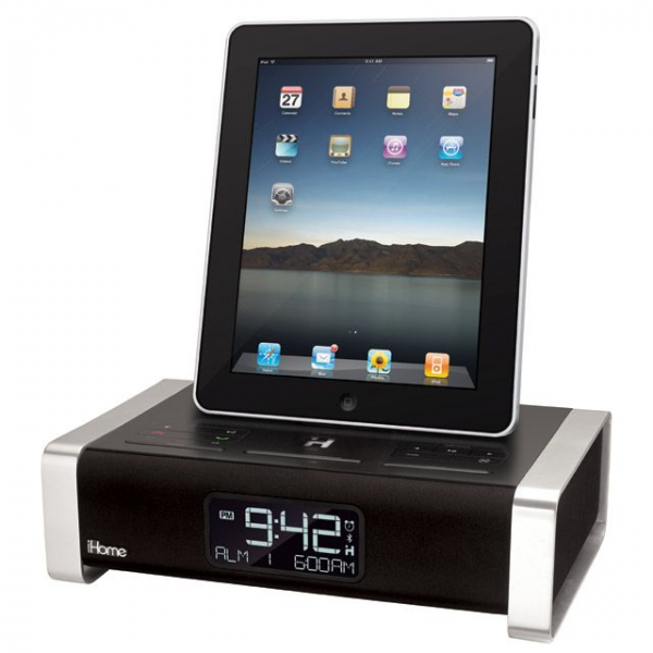 is a simple docking station that critics describe as an alarm clock ...