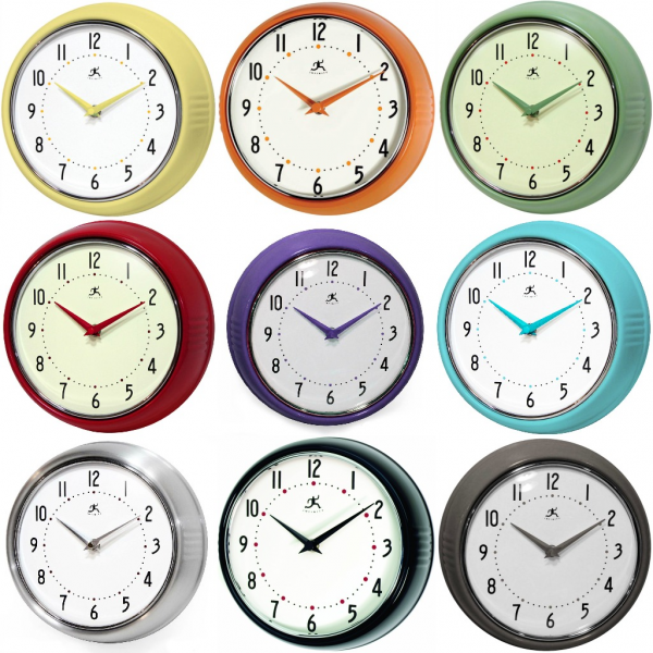 Infinity Instruments: Retro Wall Clock {Rafflecopter GIVEAWAY} 2 ...
