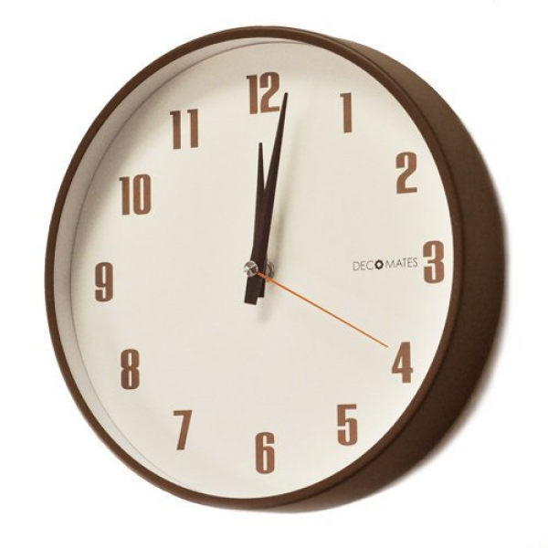 Retro Non-ticking Silent Wall Clock from SenyxDirect at the Decorstuff ...