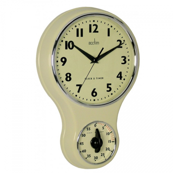 See all Wall Clocks Home > Clocks > Wall Clocks > Acctim Vintage Retro ...