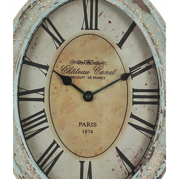 Home › Rustic Vintage Chateau Metal Wall Clock