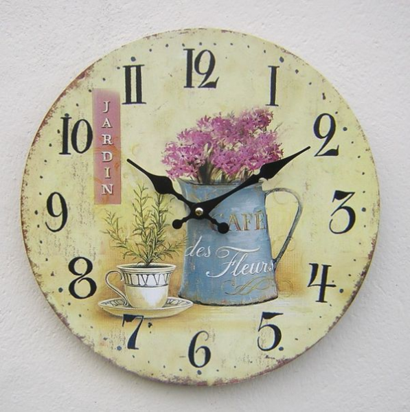JARDIN VINTAGE STYLE Wall Clock - Homeware Buy Kitchenware & Storage ...