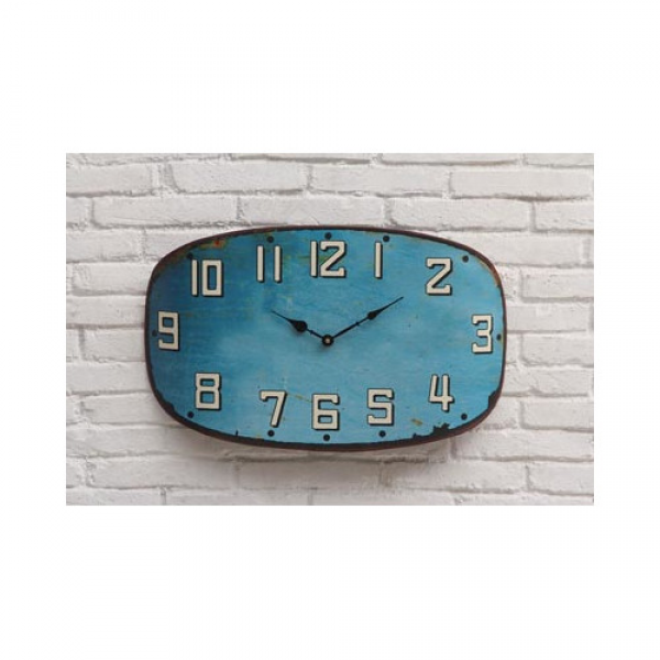 Creative Co-Op Urban Homestead Metal Clock