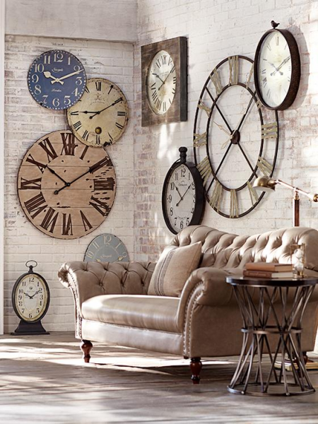 Grand Central Pocket Watch Wall Clock