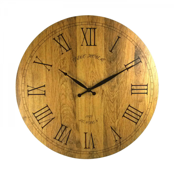 Mid Century Decor 122109 Wooden Clock | ATG Stores