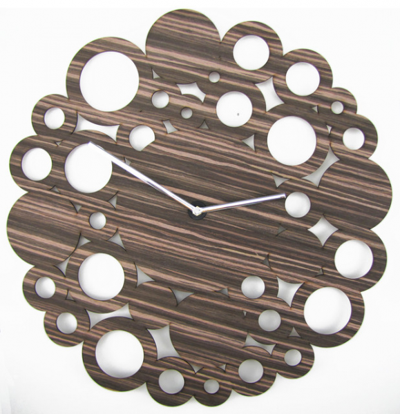 Mid-century 20-inch Wood Clock - Midcentury - Wall Clocks - by Mid ...