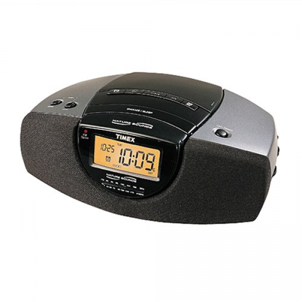 Timex Nature Sound Clock Radio on timex clock radio cd