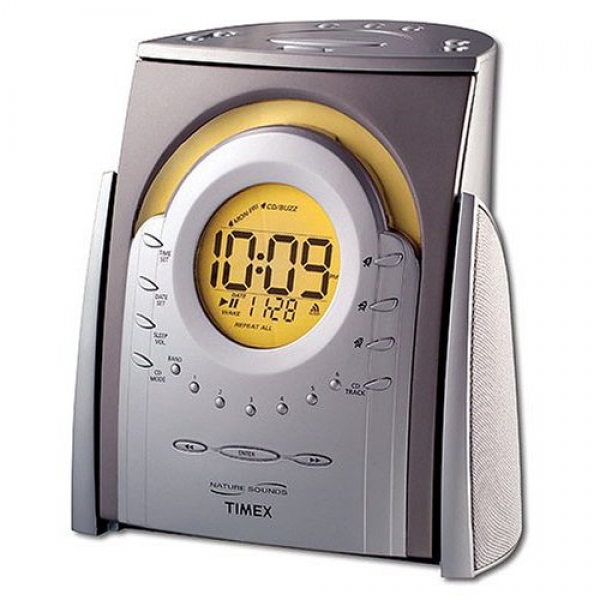 ... - Timex Nature Sounds CD Clock Radio T621T - Electronic Alarm Clocks
