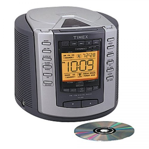 Timex Nature Sounds CD Clock Radio