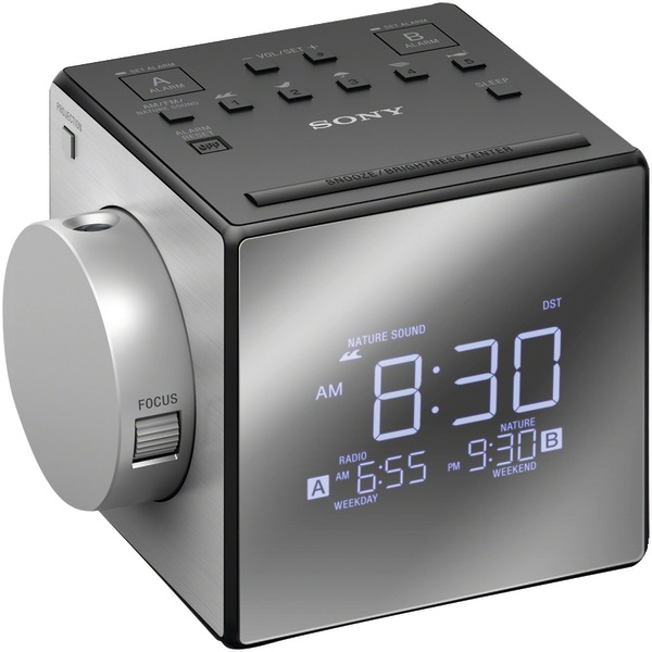 SONY ICFC1PJ Nature Sound & Projection Clock Radio
